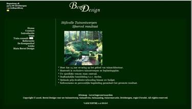 Website bouwer Stijlvolle tuinontwerpen