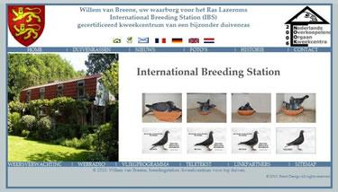 Website bouwer International Breeding Station