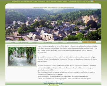 Website bouwer Vakantiehuis Ardennen