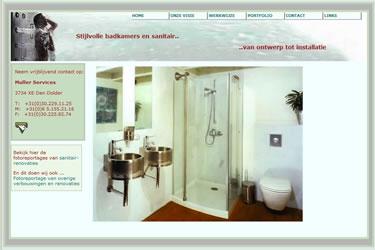 Website bouwer Luxe badkamers en sanitair