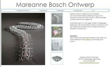 Website bouwer Mareanne Bosch Edelsmid
