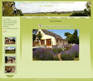 Website bouwer Vakantiehuis in Normandie